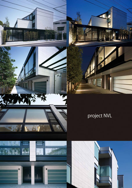 高価格帯マンション、外観、ディテール、夜景