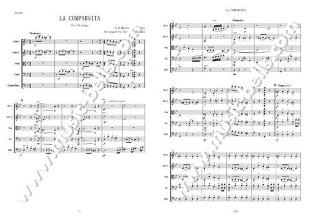 ラ・クンパルシータ サンプル楽譜