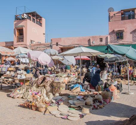I souk di Marrakech