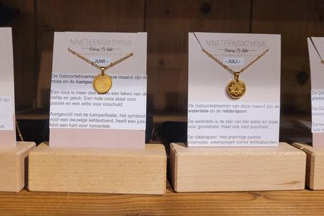 Handgemaakte sieraden van o.a. Eufrasia Jewels