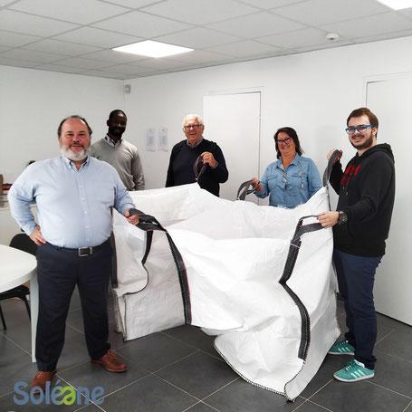 l'équipe Soléane s'engage pour l'environnement