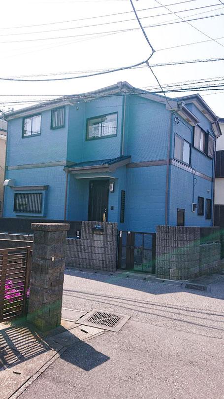 千葉市花見川区 外壁塗装、屋根塗装工事 1