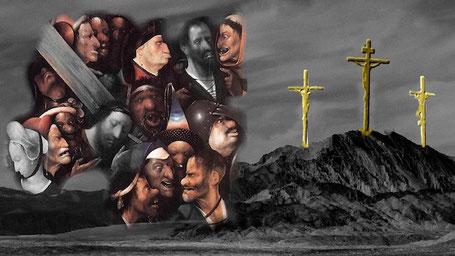 Jezus ziet de misdadigers van alle tijden