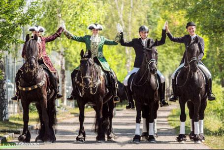 Showauftritte bei Messe Pferd Wels