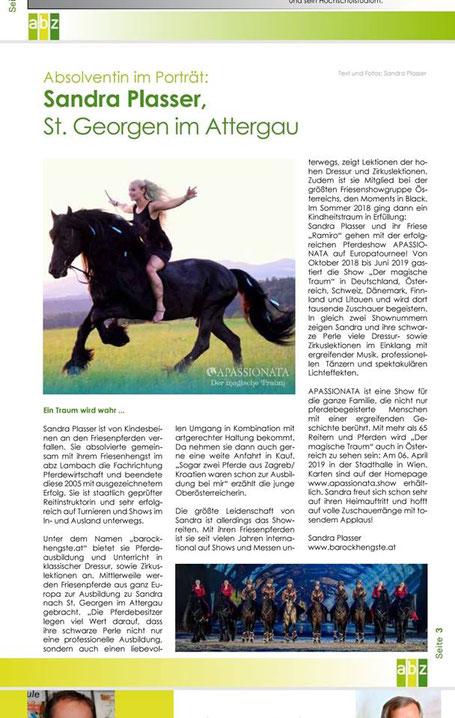 Bericht über Apassionata - Der magische Traum