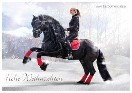 Sandra Plasser mit Pferd