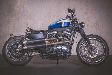 Outback Motors Motorrad Custom Bike Umbau