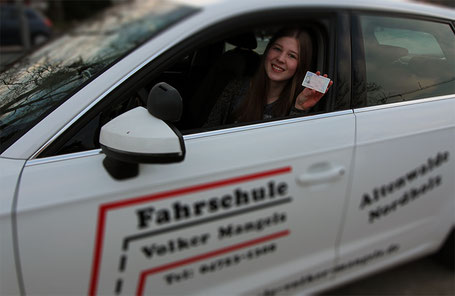 Führerscheinprüfung bestanden