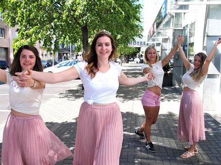 Fotoshooting jga Junggesellinnenabschied ELA EIS Düsseldorf