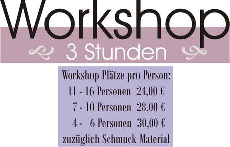 JGA Bonn im Atelier  Schmuckworkshop & Fotoshooting JGA Beschreibung