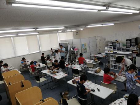 ロボット教室風景