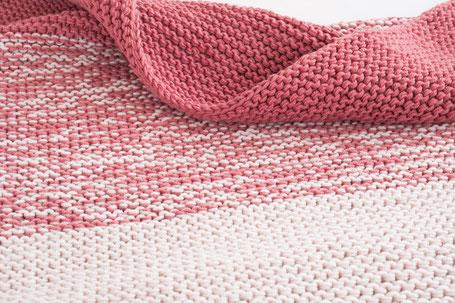 Strickset von Wooltwist für Babydecke aus Merinowolle