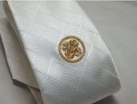家紋はオーダーメイドの高級本刺繍