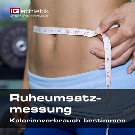 Ruheumsatzmessung zum Bestimmen des Kalorienverbrauchs