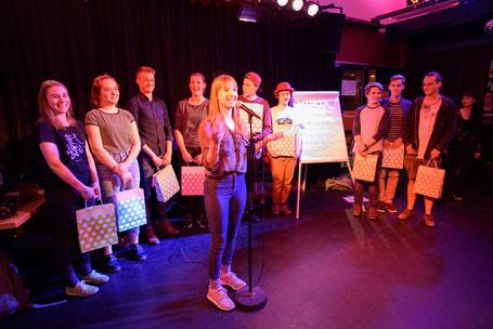 1. U20 Poetry Slam