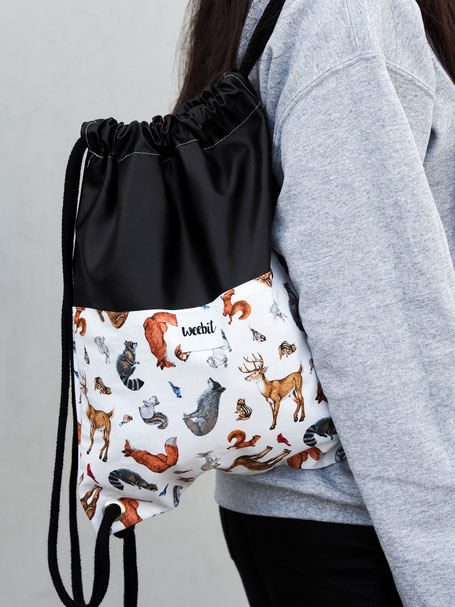 FOREST ANIMALS GYM BAG 34,95€