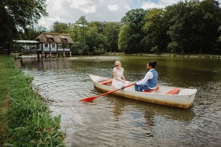 Bruiloft in Antwerpen the notebook boot varen fotograaf