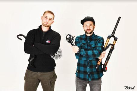 Mathias et Olivier de Biked