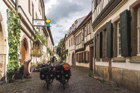 rue pavée cyclotourisme