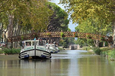 Canal du Midi im Languedoc