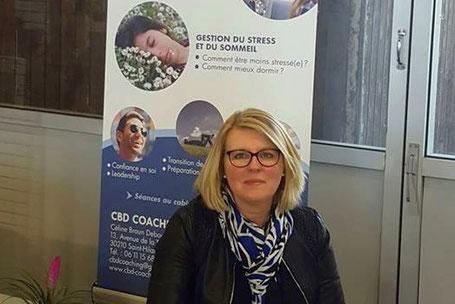 """Céline Braun Debourges au salon """"Un week-end pour soi à Laudun (Gard)"""