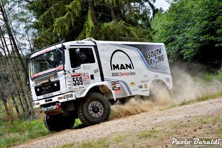 Robert Striebe vincitore Breslau 500 Big Truck CC