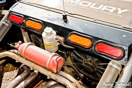 """Radiatore Allisport personalizzato e dotato di ventola da 18"""""""