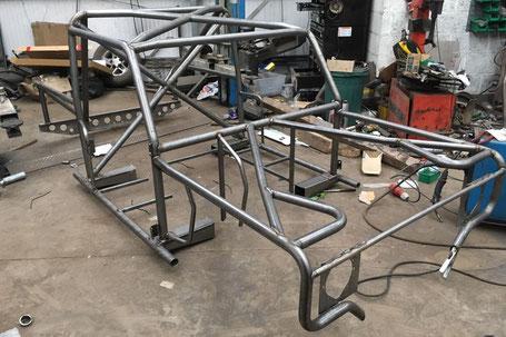 """Il telaio tubolare Tornado Motorsport EVO 3 da 102"""""""