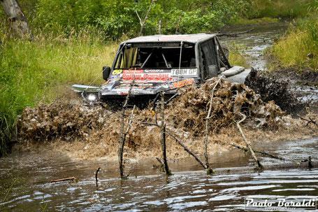 Jim Marsden and Helder da Rocha winners Breslau Poland Car Extreme