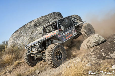 The Ultra4 prototype with which Jim will run the Breslau 2018