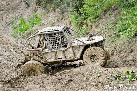 Rubechini-Franceschini, team Evolution 4x4, vincitori gara 1 cat. Blu