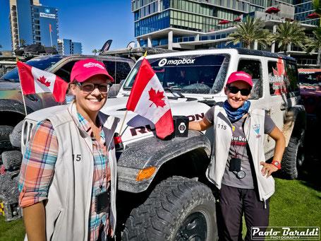 Michelle Laframboise e Elise Racette