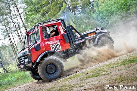 Felix Muellenheim first at Breslau 500 Small Truck CC