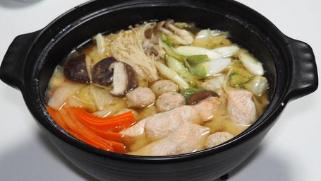 料理写真4「石狩鍋」