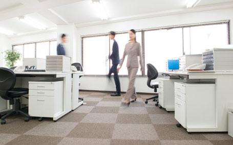 オフィスのカーペット