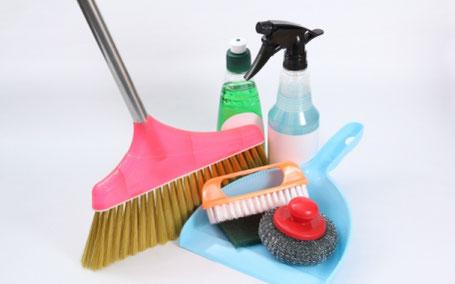 適切な清掃用具