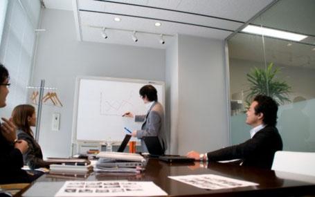 綺麗で働きやすい事務所