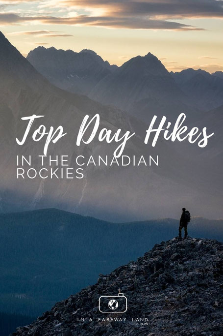 The ultimate list of the most beautiful day hikes in the Canadian Rockies.