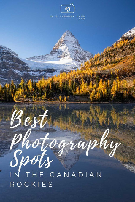 Top photography spots in the Canadian Rockies