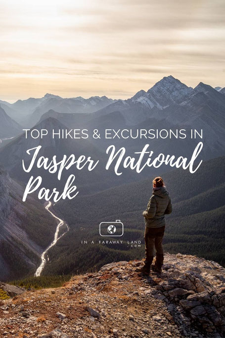 A list of some of the best and most popular hikes in Jasper National Park in Canada. Includes Information about the trail lengths and an interactive map of the trailheads.