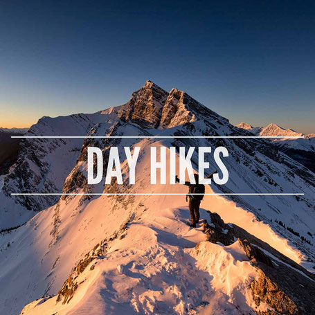 Day hikes in the Canadian Rockies and beyond
