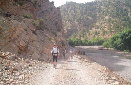 trek maroc avec terre d'aventure