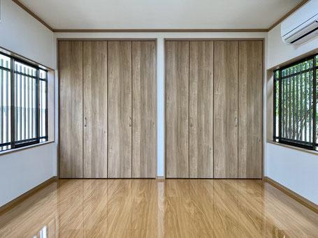 和室を洋室に改装-2(大壁)