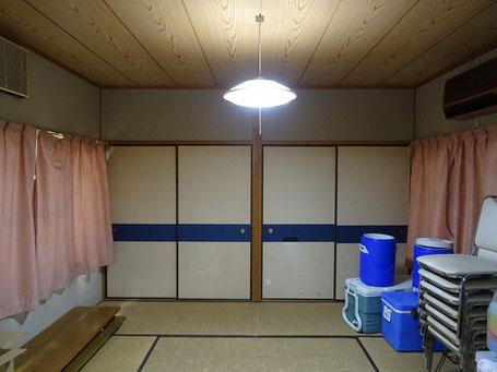和室を洋室に改装-1(真壁)