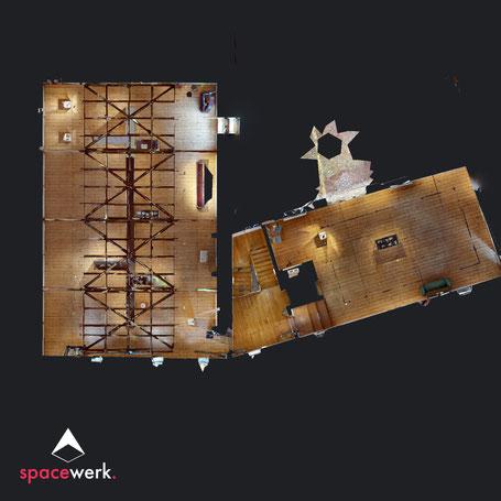 Burg Vischering - FloorPlan-Ansicht