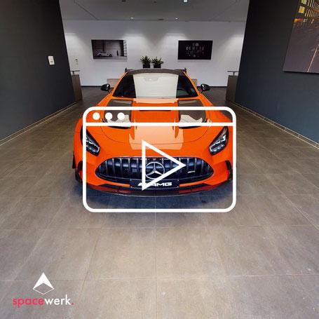 AMG GT Black Series - Innenansicht