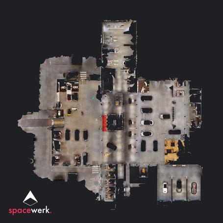 Burg Vischering FloorPlan-Ansicht
