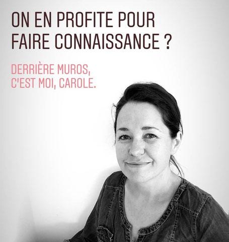 Muros - Portrait de Carole Monnot