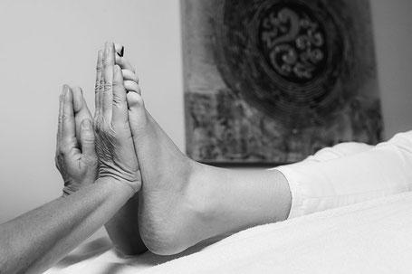 Fussreflexzonen Massage, Therapie Baumann, Luzern