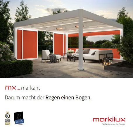 markilux markant, Pavillon, Pergola, Pergolen, Markisensystem